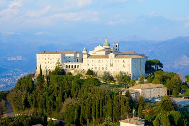 Abbazia di San Benedetto ,montecassino